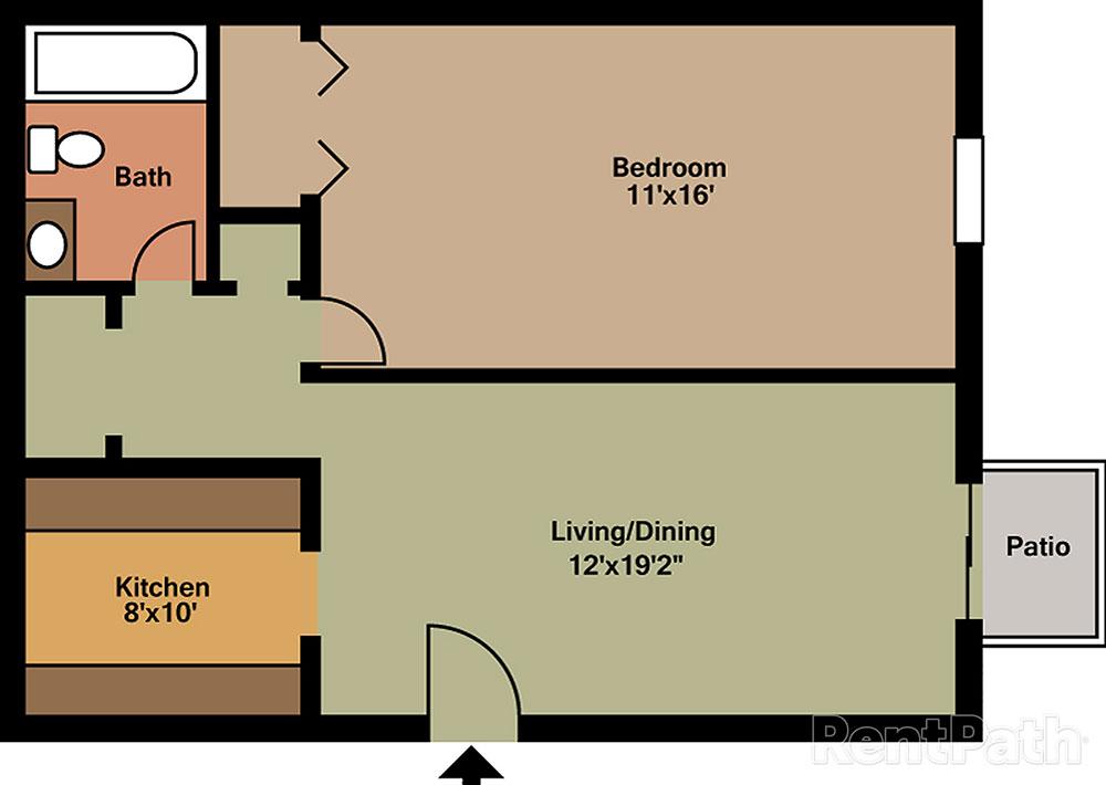 hickory hills apartments u0026 townhomes floor plans