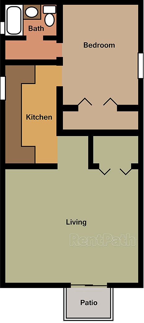 Hickory Hills Apartments Amp Townhomes Floor Plans